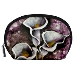 Gala Lilies Accessory Pouches (large)