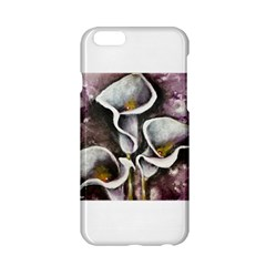 Gala Lilies Apple iPhone 6 Hardshell Case