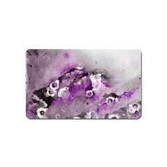 Shades Of Purple Magnet (name Card)