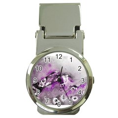 Shades Of Purple Money Clip Watches