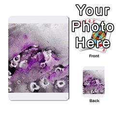 Shades of Purple Multi-purpose Cards (Rectangle)