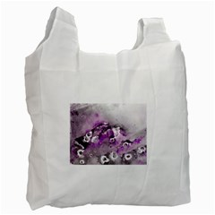 Shades Of Purple Recycle Bag (two Side)