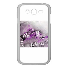 Shades Of Purple Samsung Galaxy Grand Duos I9082 Case (white)
