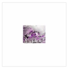 Shades of Purple Large Satin Scarf (Square)