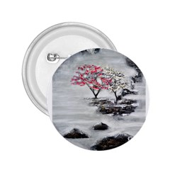 Mountains, Trees And Fog 2 25  Buttons
