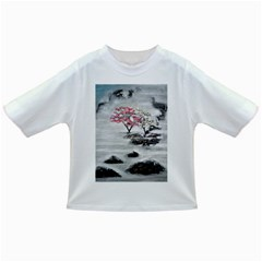 Mountains, Trees and Fog Infant/Toddler T-Shirts