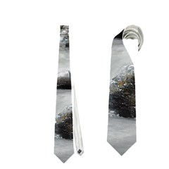 Mountains, Trees and Fog Neckties (One Side)