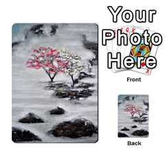 Mountains, Trees And Fog Multi Purpose Cards (rectangle)