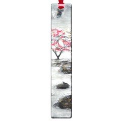 Mountains, Trees And Fog Large Book Marks