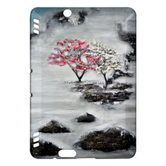 Mountains, Trees And Fog Kindle Fire Hdx Hardshell Case