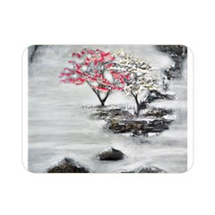 Mountains, Trees and Fog Double Sided Flano Blanket (Mini)