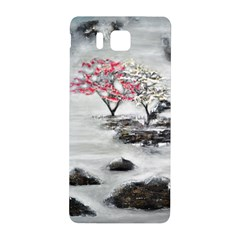Mountains, Trees and Fog Samsung Galaxy Alpha Hardshell Back Case