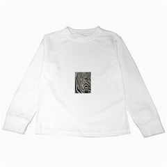 Unique Zebra Design Kids Long Sleeve T-Shirts