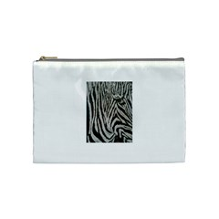 Unique Zebra Design Cosmetic Bag (medium)