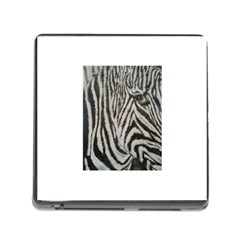 Unique Zebra Design Memory Card Reader (square)