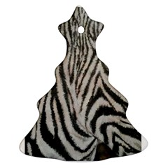 Unique Zebra Design Ornament (Christmas Tree)