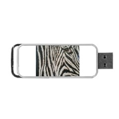 Unique Zebra Design Portable Usb Flash (one Side)