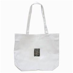 Unique Zebra Design Tote Bag (White)