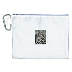 Unique Zebra Design Canvas Cosmetic Bag (XXL)