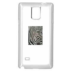 Unique Zebra Design Samsung Galaxy Note 4 Case (white)