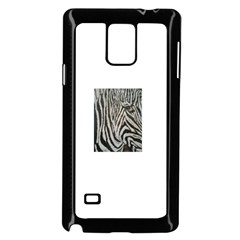 Unique Zebra Design Samsung Galaxy Note 4 Case (Black)