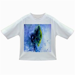 Bright Yellow and Blue Abstract Infant/Toddler T-Shirts