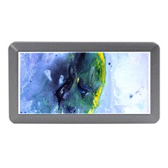 Bright Yellow and Blue Abstract Memory Card Reader (Mini)