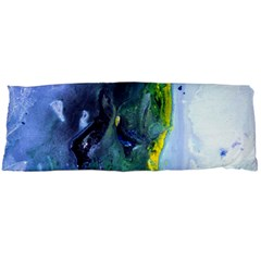 Bright Yellow And Blue Abstract Body Pillow Cases Dakimakura (two Sides)