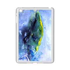 Bright Yellow And Blue Abstract Ipad Mini 2 Enamel Coated Cases