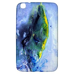 Bright Yellow And Blue Abstract Samsung Galaxy Tab 3 (8 ) T3100 Hardshell Case