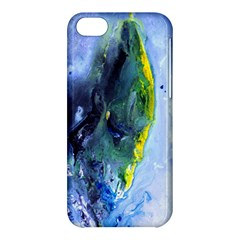 Bright Yellow And Blue Abstract Apple Iphone 5c Hardshell Case