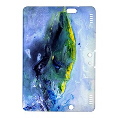Bright Yellow and Blue Abstract Kindle Fire HDX 8.9  Hardshell Case