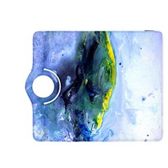Bright Yellow And Blue Abstract Kindle Fire Hdx 8 9  Flip 360 Case