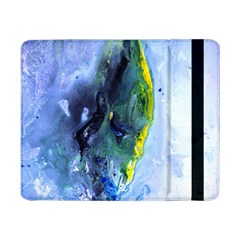 Bright Yellow and Blue Abstract Samsung Galaxy Tab Pro 8.4  Flip Case