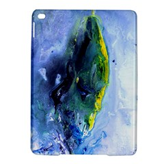 Bright Yellow and Blue Abstract iPad Air 2 Hardshell Cases
