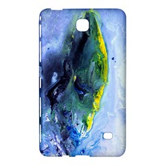 Bright Yellow and Blue Abstract Samsung Galaxy Tab 4 (8 ) Hardshell Case