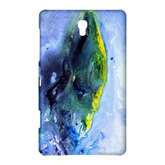 Bright Yellow and Blue Abstract Samsung Galaxy Tab S (8.4 ) Hardshell Case
