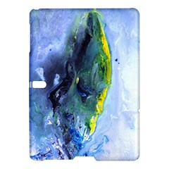 Bright Yellow And Blue Abstract Samsung Galaxy Tab S (10 5 ) Hardshell Case
