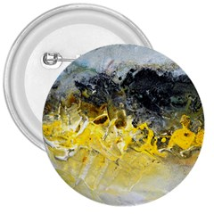 Bright Yellow Abstract 3  Buttons