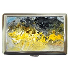 Bright Yellow Abstract Cigarette Money Cases