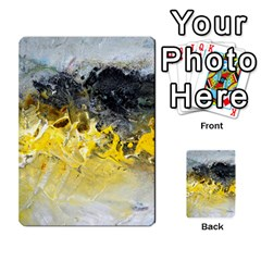 Bright Yellow Abstract Multi-purpose Cards (Rectangle)