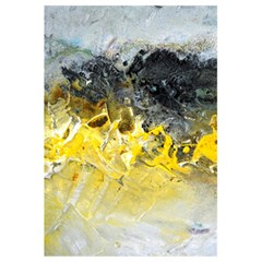 Bright Yellow Abstract 5.5  x 8.5  Notebooks