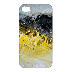 Bright Yellow Abstract Apple Iphone 4/4s Hardshell Case