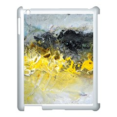 Bright Yellow Abstract Apple Ipad 3/4 Case (white)