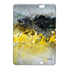 Bright Yellow Abstract Kindle Fire Hdx 8 9  Hardshell Case