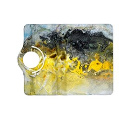 Bright Yellow Abstract Kindle Fire Hd (2013) Flip 360 Case