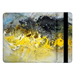 Bright Yellow Abstract Samsung Galaxy Tab Pro 12.2  Flip Case