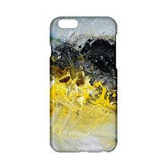 Bright Yellow Abstract Apple iPhone 6 Hardshell Case