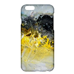 Bright Yellow Abstract Apple iPhone 6 Plus Hardshell Case