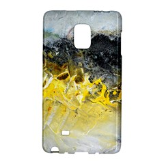 Bright Yellow Abstract Galaxy Note Edge